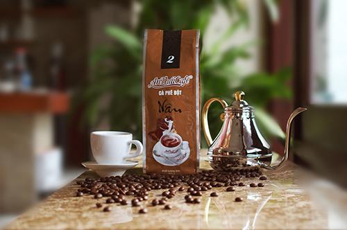 cà phê bột Túi Nâu - AnTháiCafé 200g