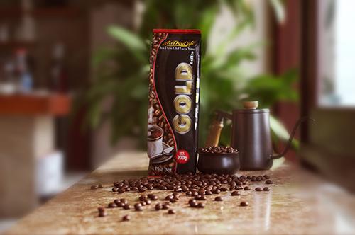 cà phê bột Gold Coffee AnTháiCafé 200g