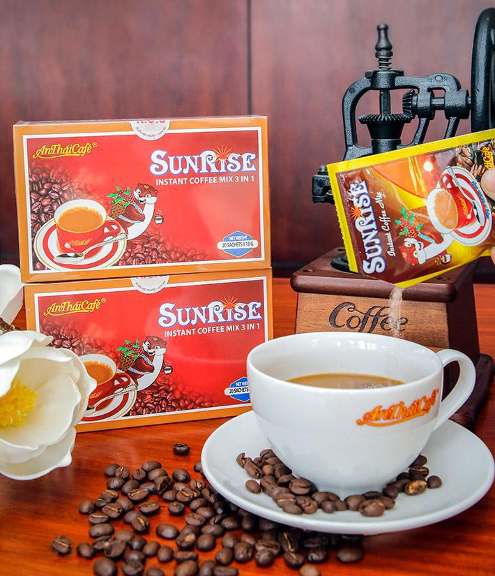 Cà phê sữa 3in1 Sunsire