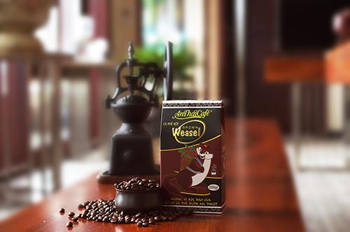 Cà phê bột Chồn Nâu (Brown Weasel) - AnTháiCafé