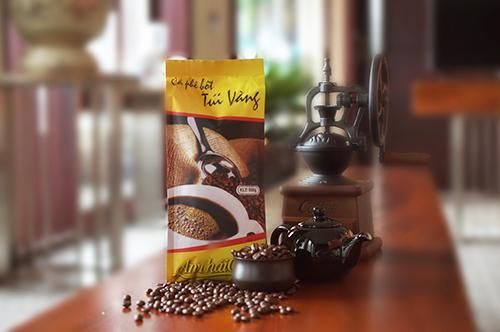 Cà phê bột Túi Vàng