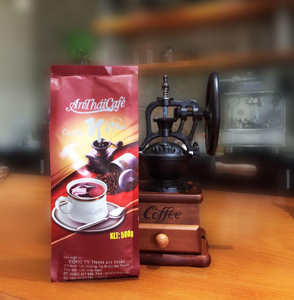 cà phê bột Túi Nâu