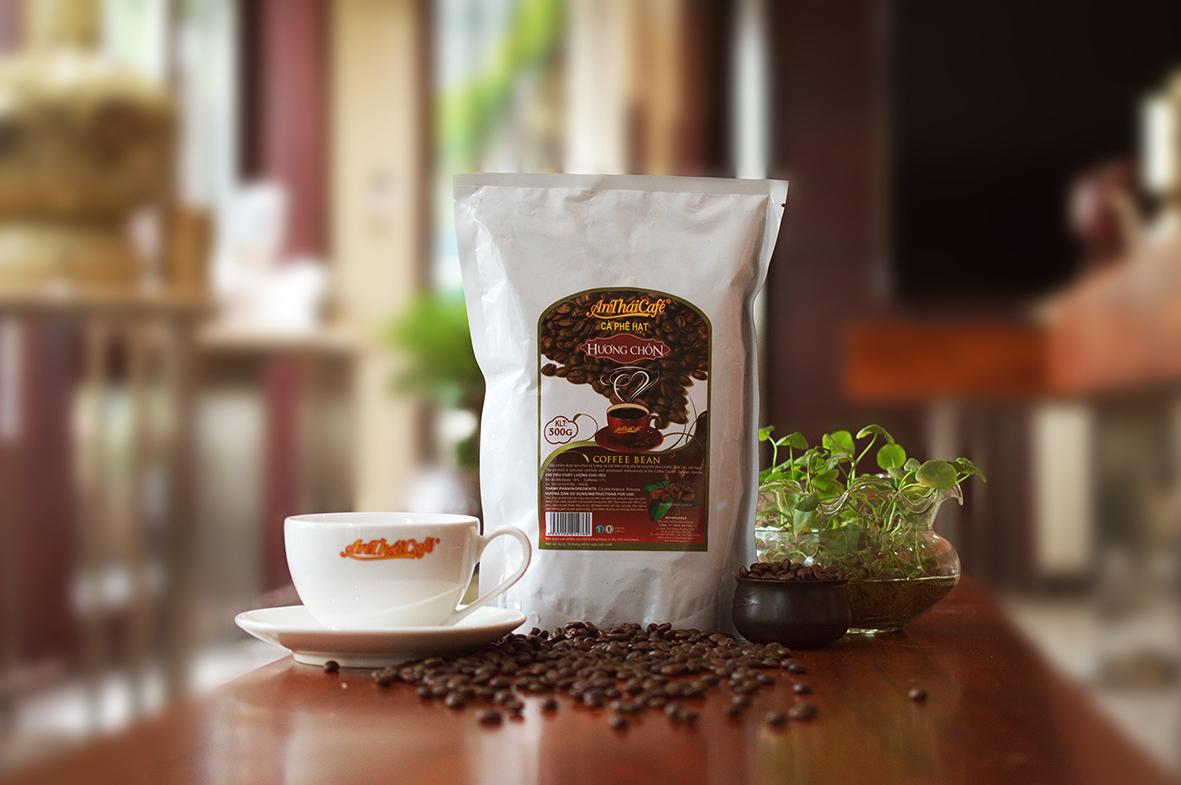 Cà phê hạt rang Hương Chồn - AnTháiCafé 500g