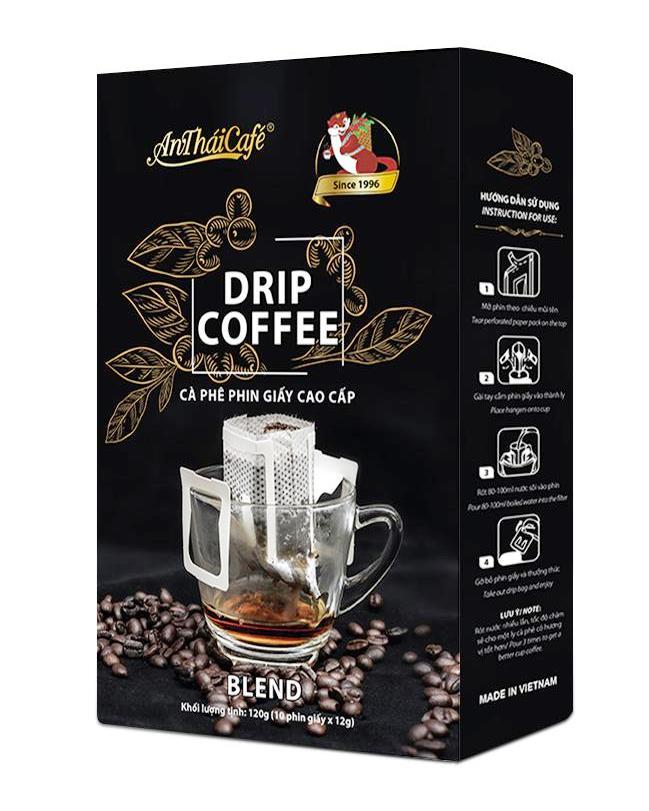 Cà phê phin giấy AnThaiCafé, năng động tiện lợi