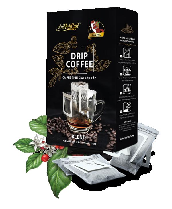 Cà phê phin giấy cao cấp AnThaiCafé
