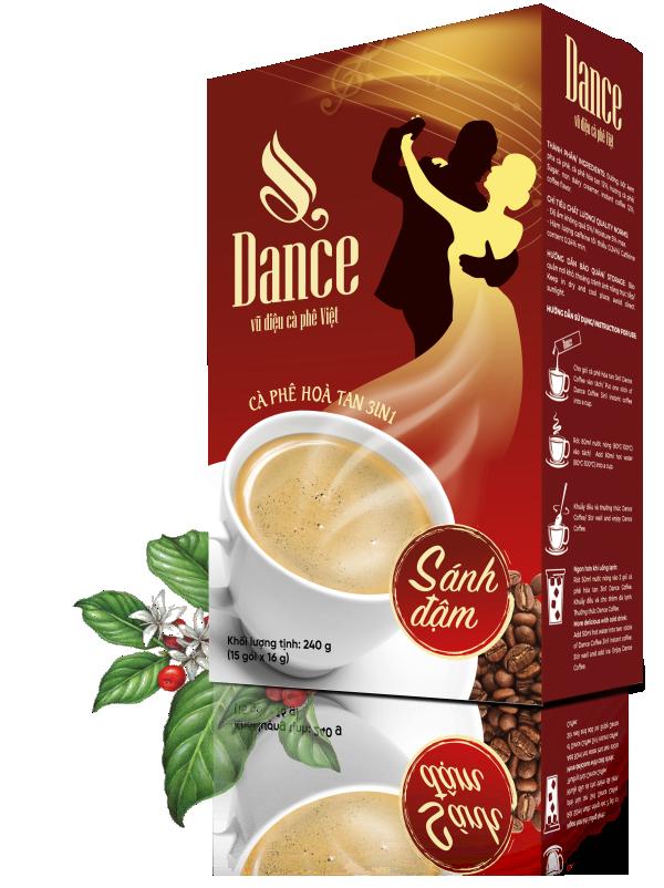 Cà phê sữa 3in1 Dance Coffee - Vũ điệu cà phê Việt