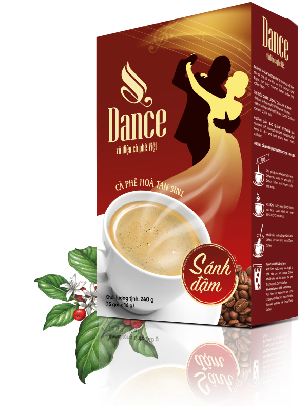 Dance Coffee - 3in1 instant coffee Rich