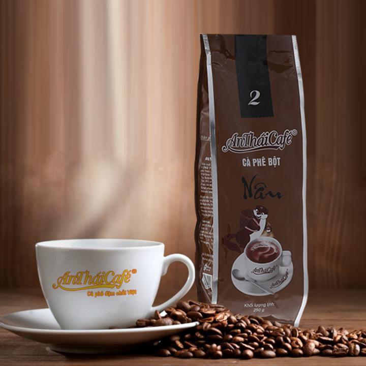 cà phê bột túi Nâu AnTháiCafé - 200g
