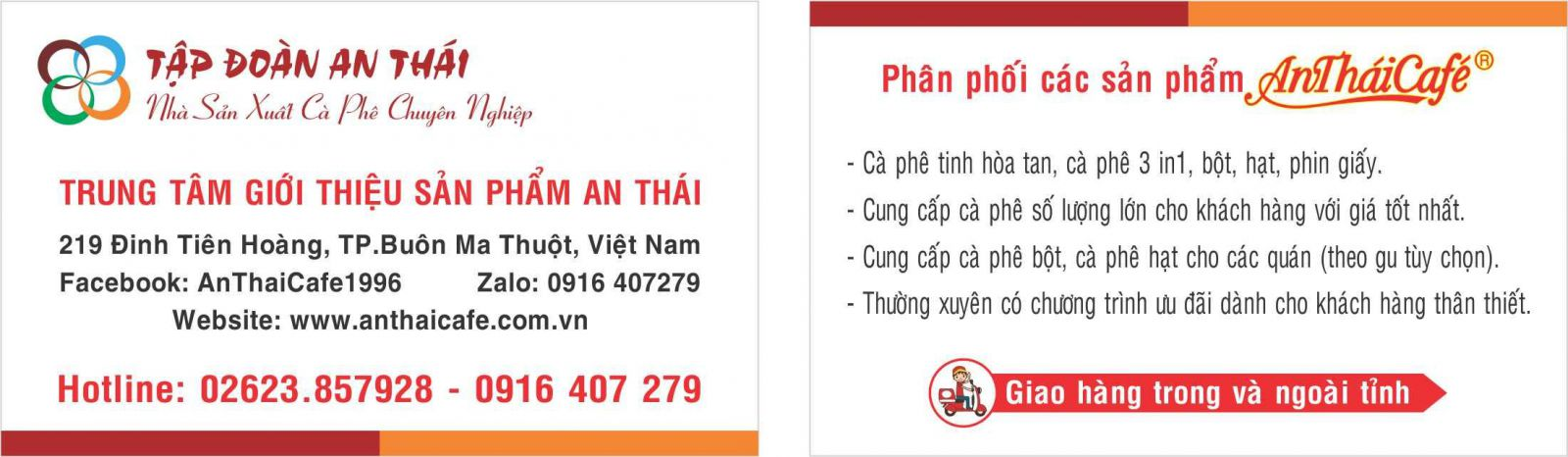 Thông tin trung tâm GTSP An Thái