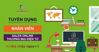 Tuyển dụng gấp nhân viên Sales Online